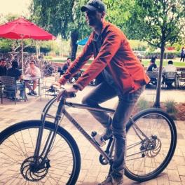 "6'7"" German test rider in Mountain View."