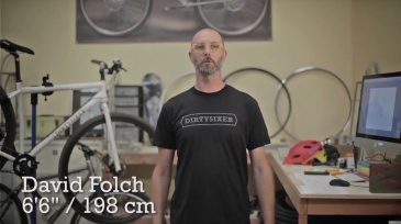 David Folch presents the Dirtysixer 36er bikes (video from the KickStarter campaign, pricing has been updated now after the campaign).
